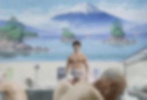 【ゲイ体験談】発展銭湯で会ったアメリカ人が早漏だった件wwwwww