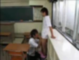 【ゲイ】教室でシコりながらフェラする淫乱中学生の話